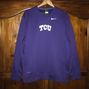 Nike ThermaFit TCU Thermal Sweater Size XL